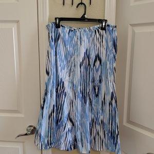 Liz Claiborne Cotton Skirt Midi